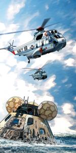 Hélicoptères du USS Iwo Jima
