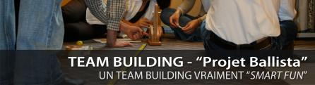 "Pilgrim Services - Team Building - ""Projet Ballista"""