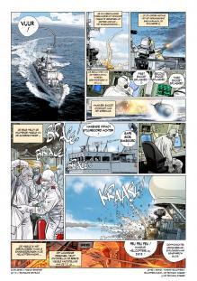 """""""SARC-6 aan boord van de Leopold I"""" bladzijde"""