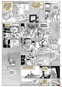 "Storyboard ""SARC-6 à bord du Léopold I"""