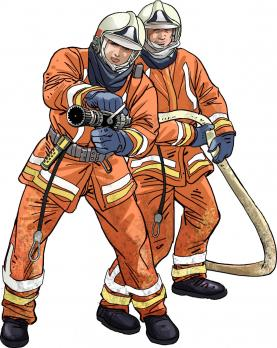 SIAMU firefighters