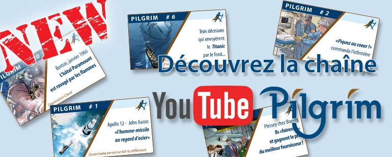Discover the Pilgrim Youtube channel !