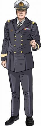 Divisieadmiraal Michel Hofman