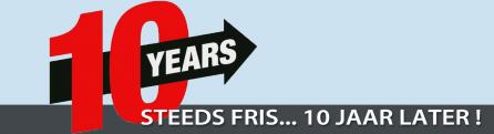 Steeds fris... 10 jaar later