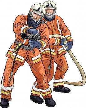 SIAMU firefighters